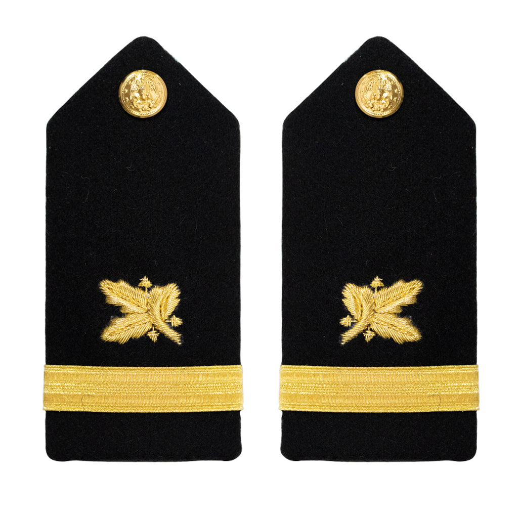 Navy Shoulder Board: Ensign Supply Corps - female