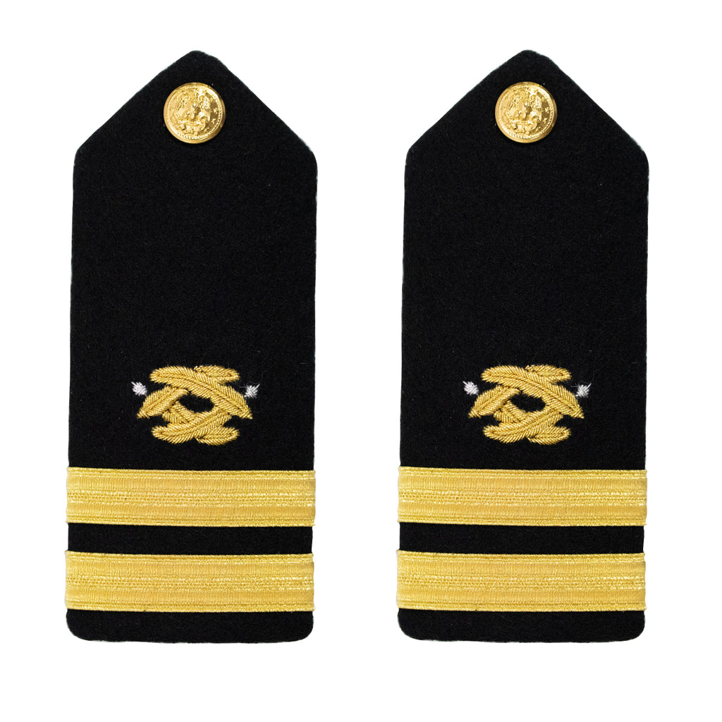 Navy Shoulder Board: Lieutenant Civil Engineer - male