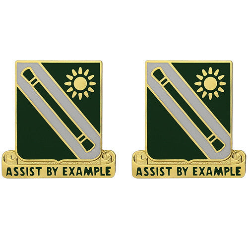 Army Crest: 701st Military Police Battalion - Assist by Example