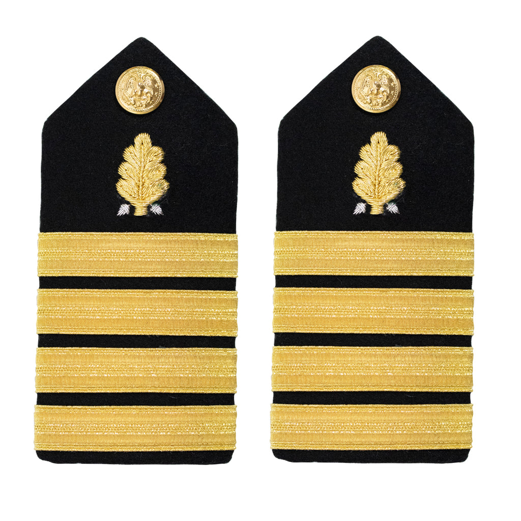 Navy Shoulder Board: Captain Dental Corps - Female