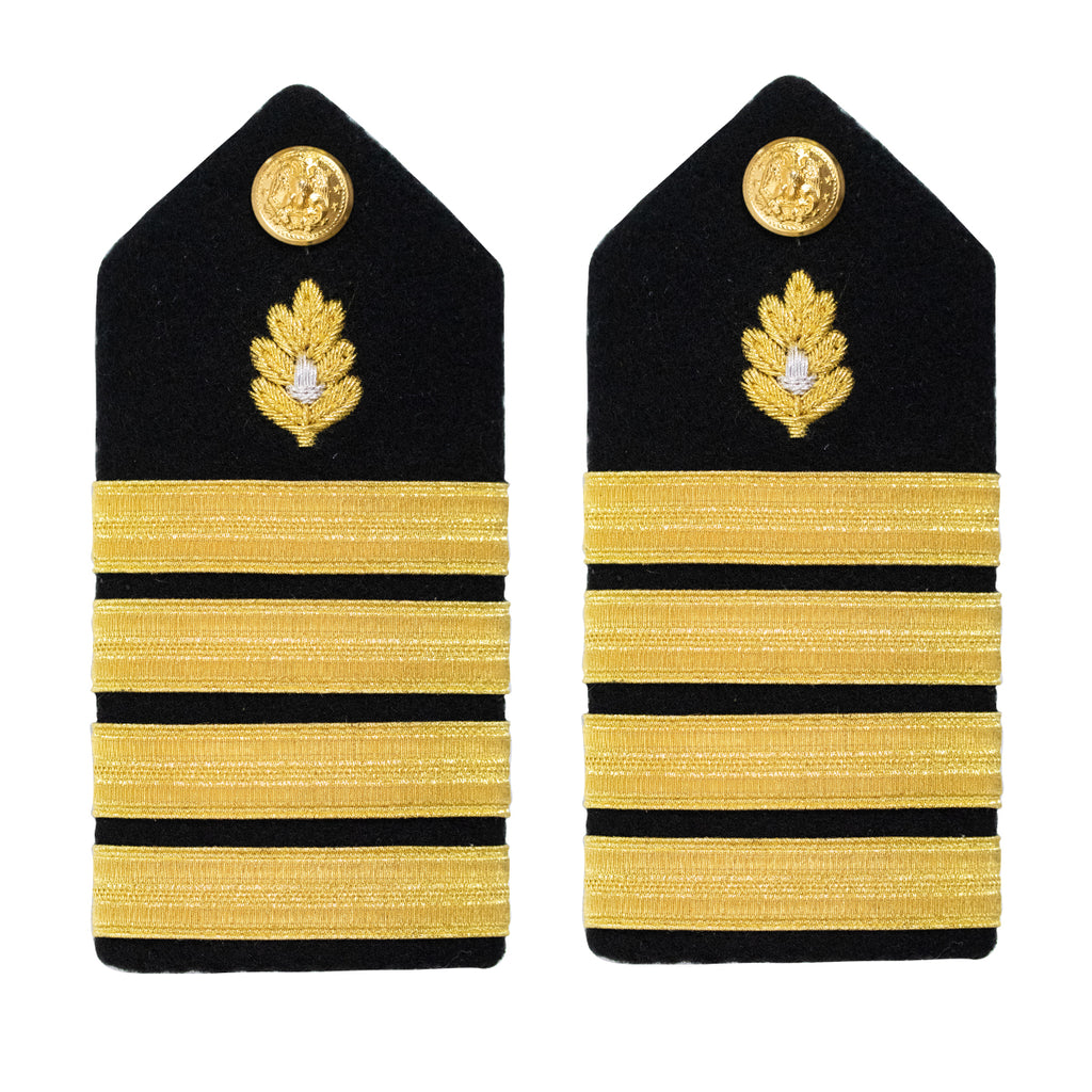 Navy Shoulder Board: Captain Medical Corps - female