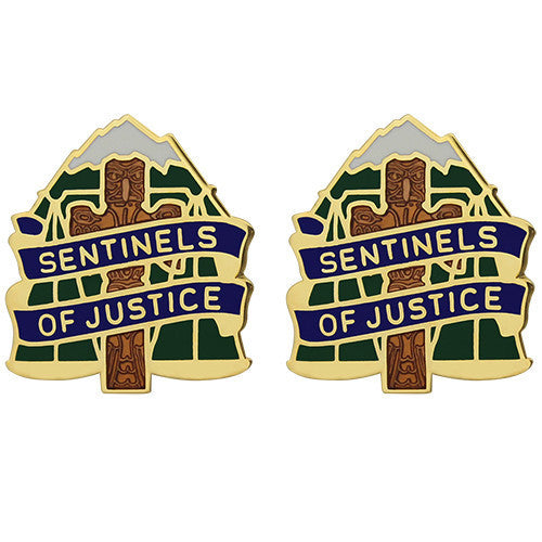 Army Crest: 704th Military Police Battalion - Sentinels of Justice
