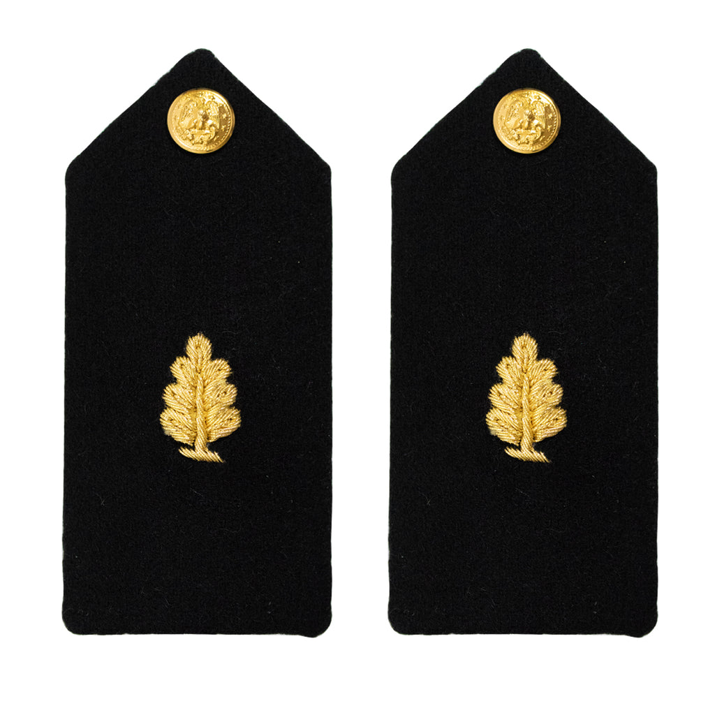Navy Midshipman Hard Shoulder Board: Medical Service Officer Candidate - Female