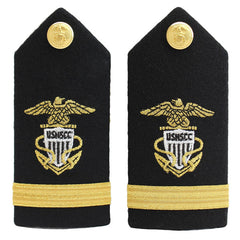 USNSCC / NLCC - Ensign Hard Shoulder Board (Female)