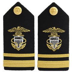 USNSCC / NLCC - Lieutenant Junior Grade (LTJG) Hard Shoulder Board (Female)