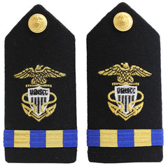USNSCC / NLCC - Warrant Officer Hard Shoulder Board (Female)
