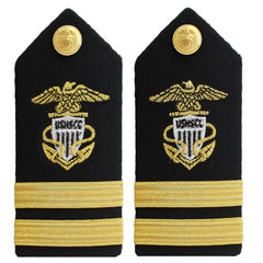USNSCC / NLCC - Lieutenant (LT) Hard Male Shoulder Board