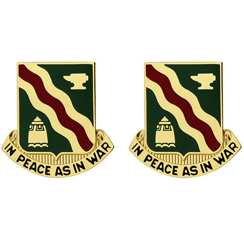 Army Crest: 728th Military Police Battalion - In Peace as In War