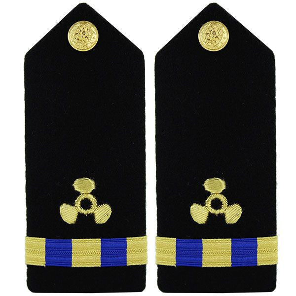 Navy Shoulder Board: Warrant Officer 3 Engineering Technician