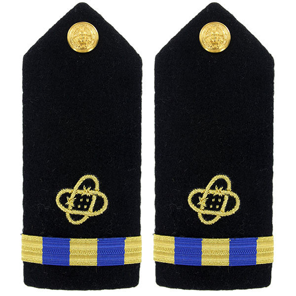 Navy Shoulder Board: Warrant Officer 3 Electronic Technician