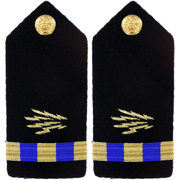 Navy Shoulder Board: Warrant Officer 3 Naval Communications