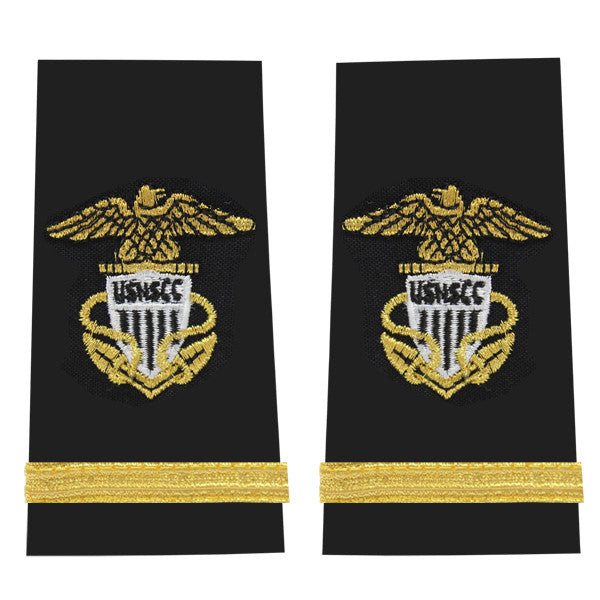 USNSCC / NLCC - Ensign Soft Shoulder Board