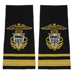 USNSCC / NLCC - Lieutenant Junior Grade (LTJG) Soft Shoulder Board