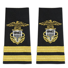 USNSCC / NLCC - Senior Lieutenant (SRLT) Soft Shoulder Board