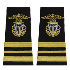 USNSCC / NLCC - Lieutenant Commander (LCDR) Soft Shoulder Board