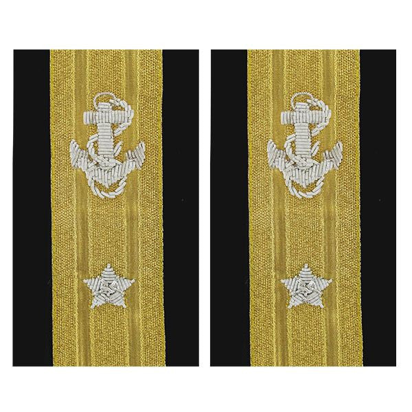 Navy Soft Shoulder Mark: Line Rear Admiral Lower 1 Star