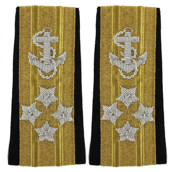 Navy Soft Shoulder Mark: Line Admiral 4 Star