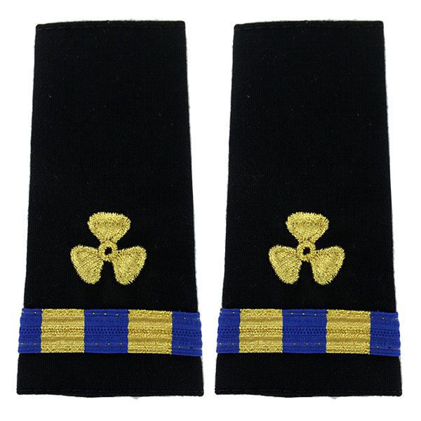 Navy Soft Shoulder Mark: Warrant Officer 2 Engineering Technician