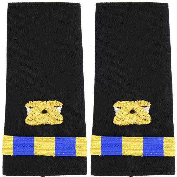 Navy Soft Shoulder Mark: Warrant Officer 3 Civil Engineer