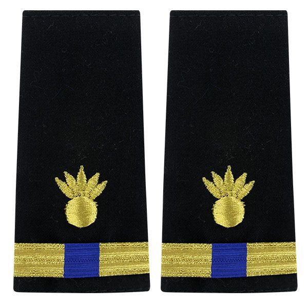 Navy Soft Shoulder Mark: Warrant Officer 4 Ordnance Technician