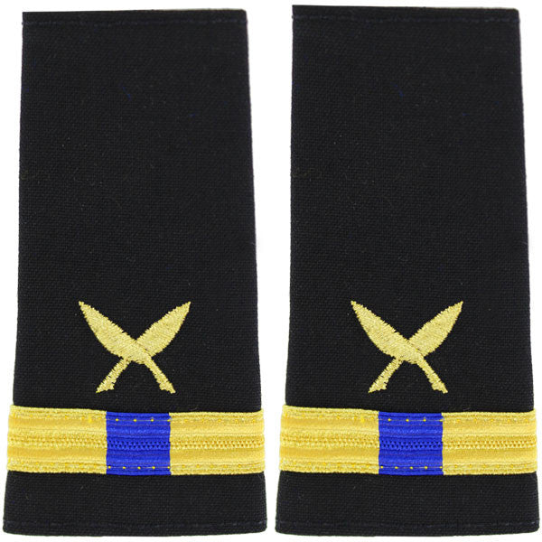 Navy Soft Shoulder Mark: Warrant Officer 4 Ship Clerk