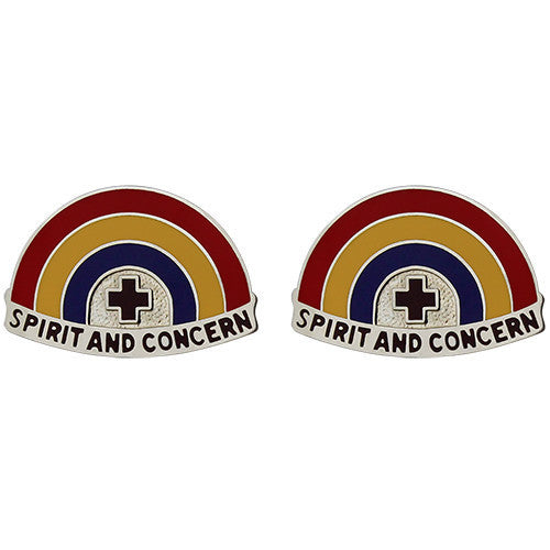 Army Crest: Dental Hawaii - Spirit and Concern