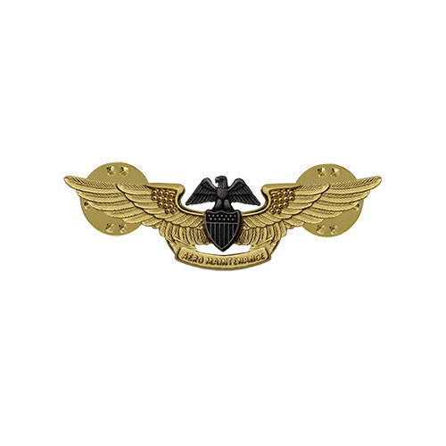 Navy Badge: Aviation Maintenance Officer - miniature