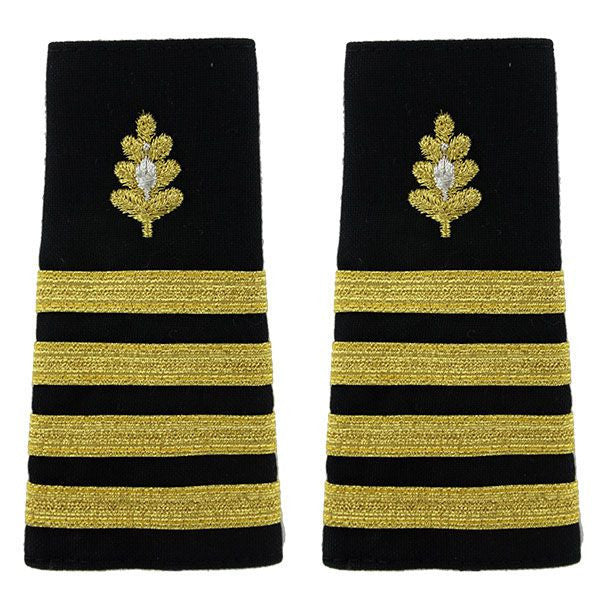 Navy Soft Shoulder Mark: Captain Medical Corps
