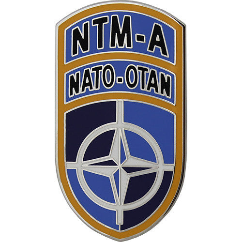 Army Combat Service Identification Badge (CSIB):  NATO Training Mission Afghanistan