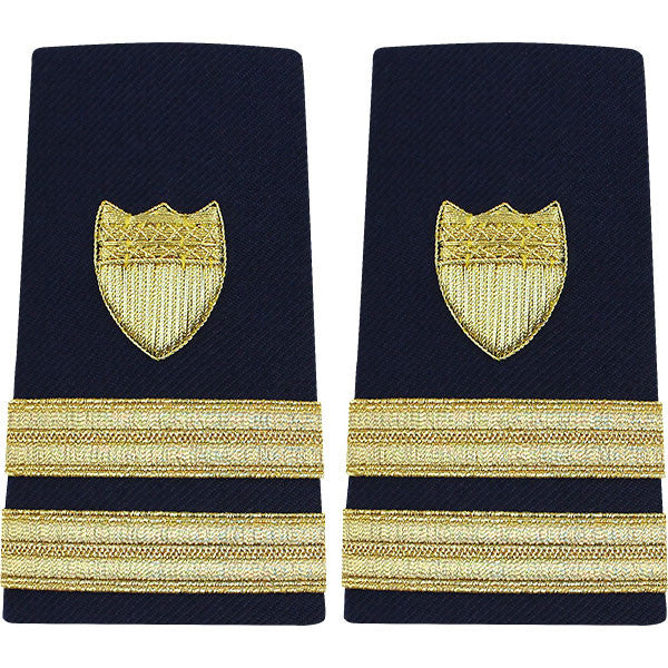 Coast Guard Shoulder Board: Enhanced Senior Lieutenant - female