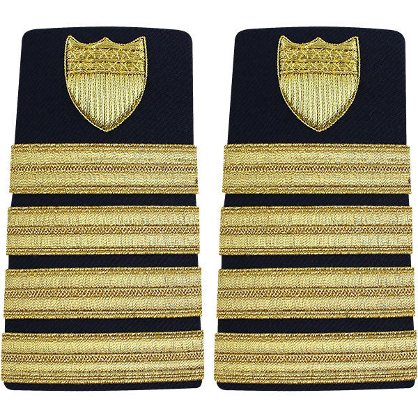 Coast Guard Shoulder Board: Enhanced Captain - female