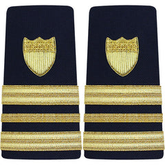 Coast Guard Shoulder Board: Enhanced Lieutenant Commander