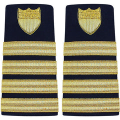 Coast Guard Shoulder Board: Enhanced Captain
