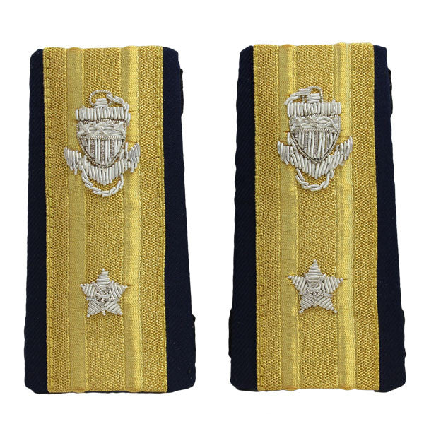 Coast Guard Shoulder Board: Enhanced RADM Lower 1 Star