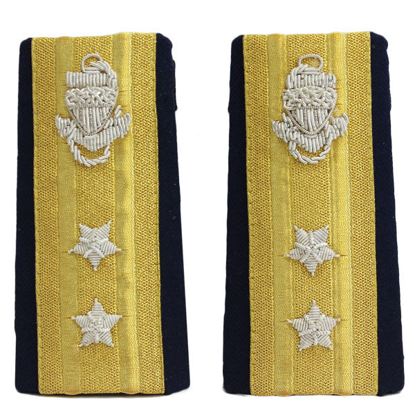 Coast Guard Shoulder Board: Enhanced RADM Upper 2 Star