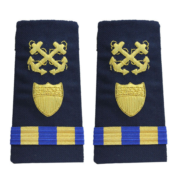 Coast Guard Shoulder Board: Enhanced Warrant Officer 2 Boatswain