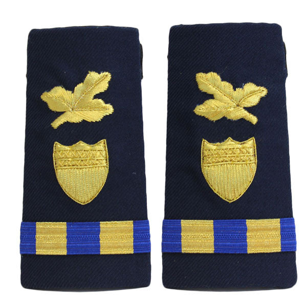 Coast Guard Shoulder Board: Enhanced Warrant Officer 2 Finance and Supply