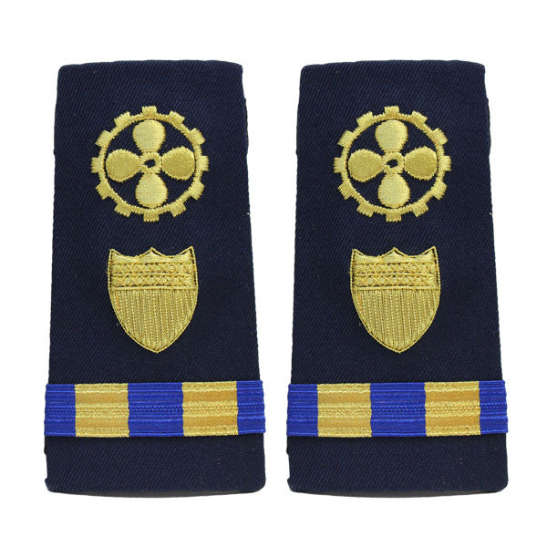 Coast Guard Shoulder Board: Enhanced Warrant Officer 2 Marine Safety Engineer