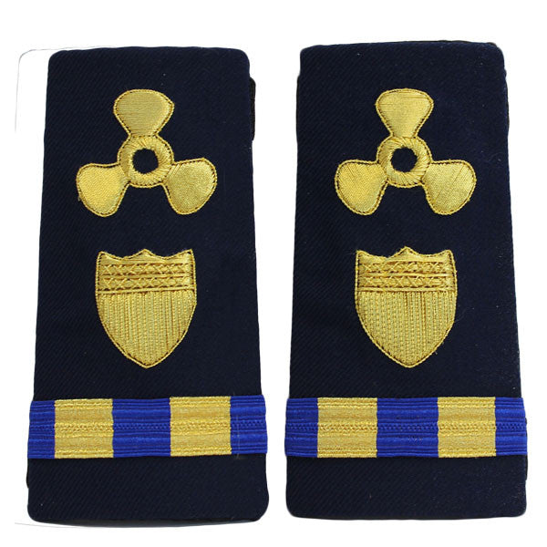 Coast Guard Shoulder Board: Enhanced Warrant Officer 2 Naval Engineering