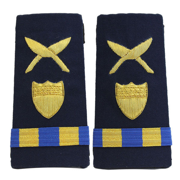 Coast Guard Shoulder Board: Enhanced Warrant Officer 2 Personnel Administration