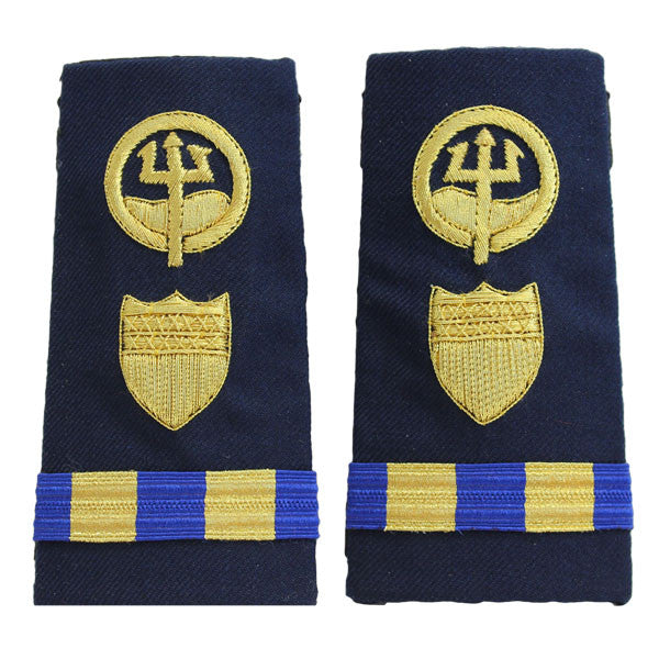 Coast Guard Shoulder Board: Enhanced Warrant Officer 2 Marine Safety Response