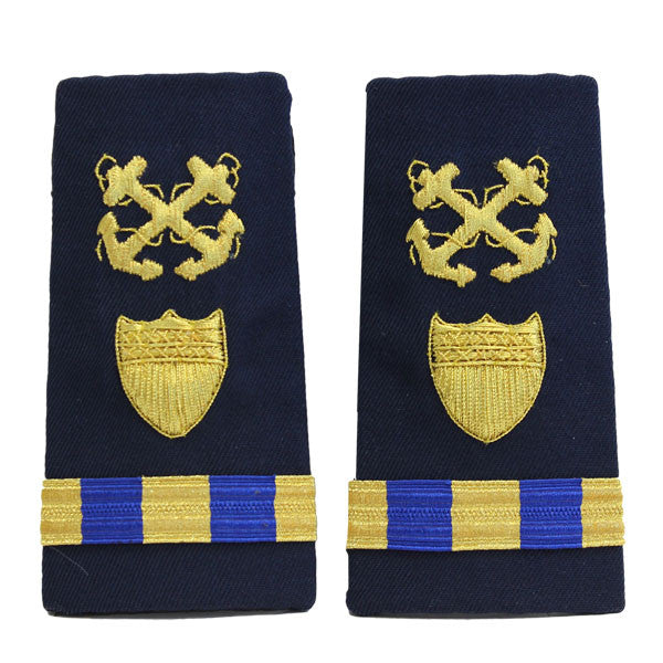 Coast Guard Shoulder Board: Enhanced Warrant Officer 3 Boatswain
