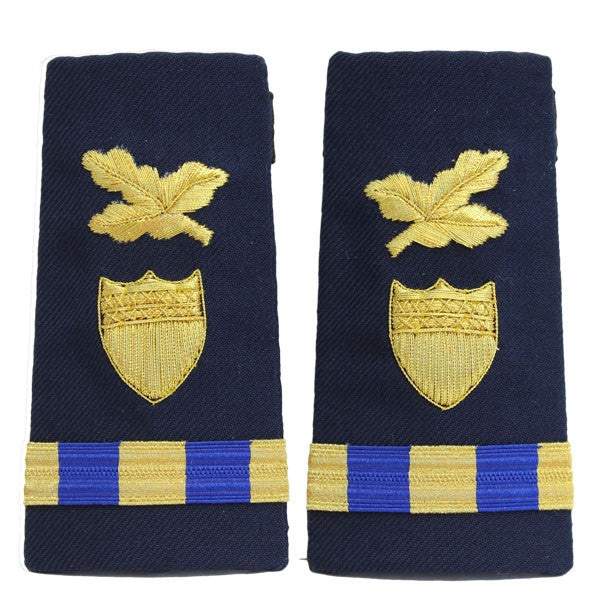 Coast Guard Shoulder Board: Enhanced Warrant Officer 3 Finance and Supply