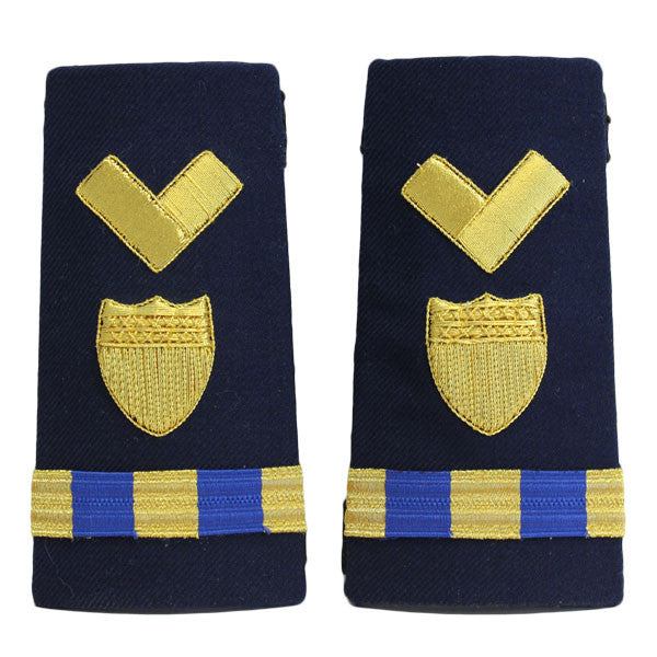 Coast Guard Shoulder Board: Enhanced Warrant Officer 3 Material Maintenance