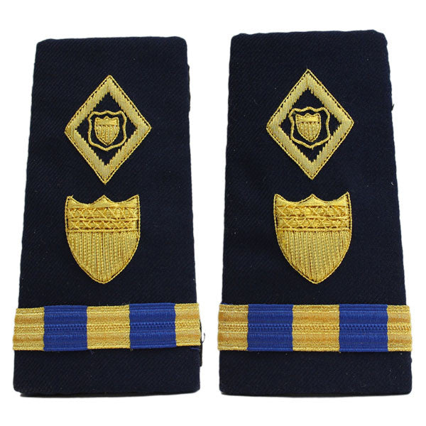 Coast Guard Shoulder Board: Enhanced Warrant Officer 3 Maritime Law Enforcement