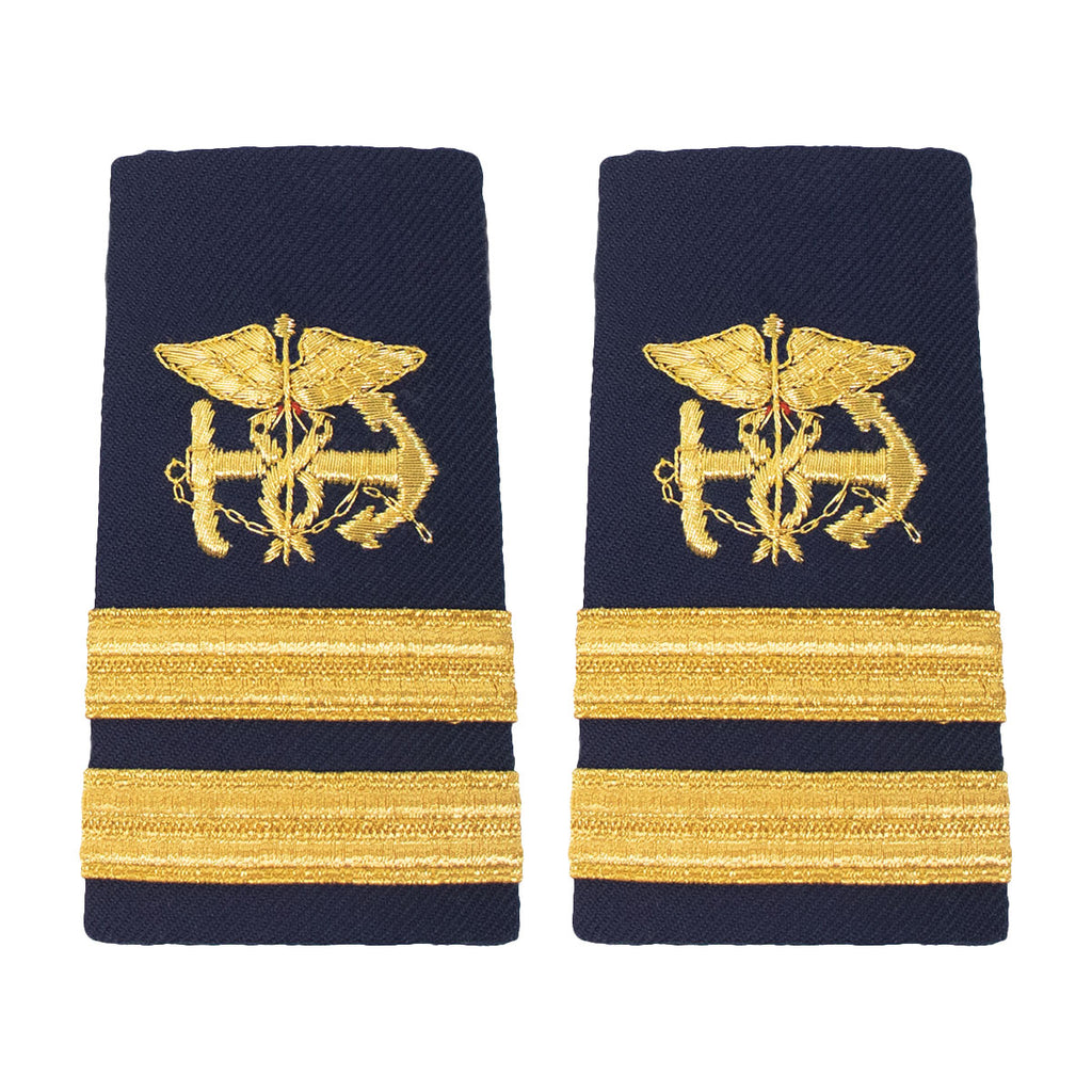 Coast Guard Shoulder Board: FEMALE Enhanced Public Health Service Lieutenant PHS