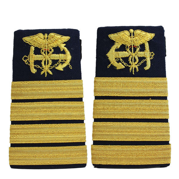Coast Guard Shoulder Board: Female Enhanced Public Health Service Captain