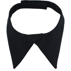 Neck Tab: Female with hook closure - black