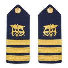 Coast Guard Shoulder Board: Public Health Service Commander PHS