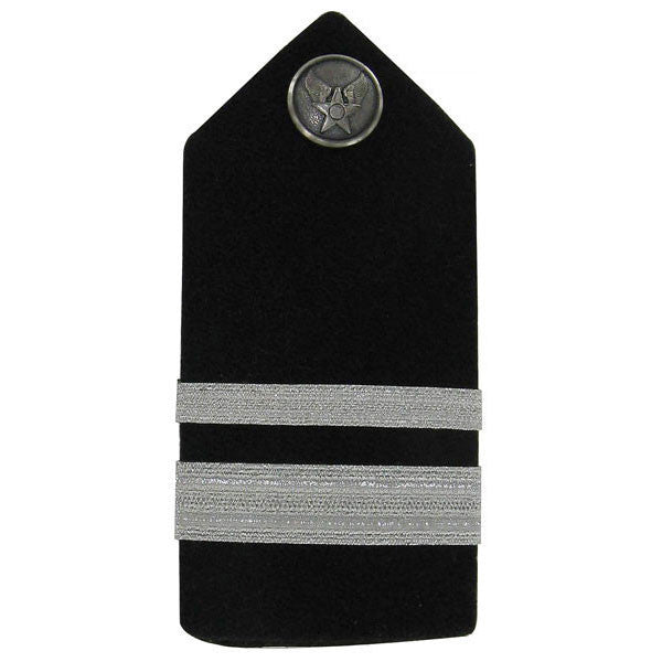 Air Force ROTC Hard Shoulder Board: First Lieutenant - female